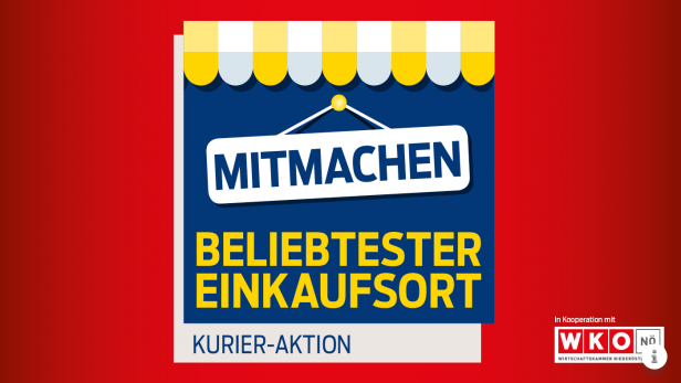 Wählen Sie Wolkersdorf zum beliebtesten Einkaufsort in NÖ